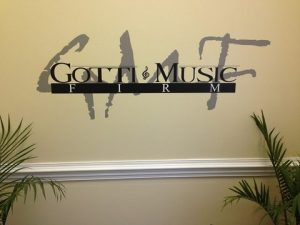 Nelson Commercial & Business Signs Gotti Cut Vinyl lobby sign 300x225