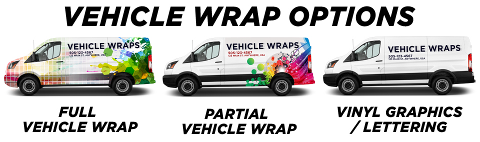 Roswell Vehicle Wraps vehicle wrap options
