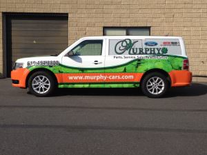 Custom Vehicle Wrap
