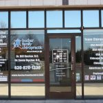 Woodstock Window Signs Copy of Chiropractic Office Window Decals 150x150